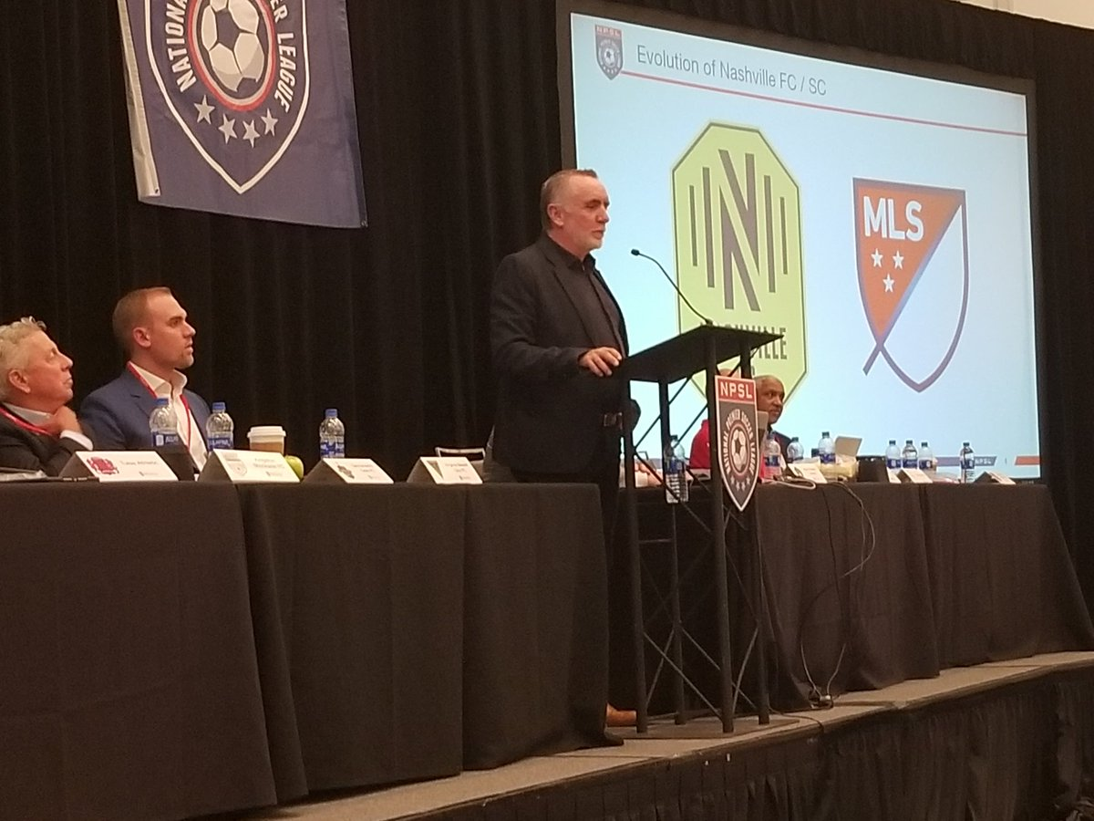 We're excited to have @NashvilleSC CEO Ian Ayre serving as keynote speaker for the 2019 #NPSL AOM.<br>http://pic.twitter.com/skAY4gzC2M