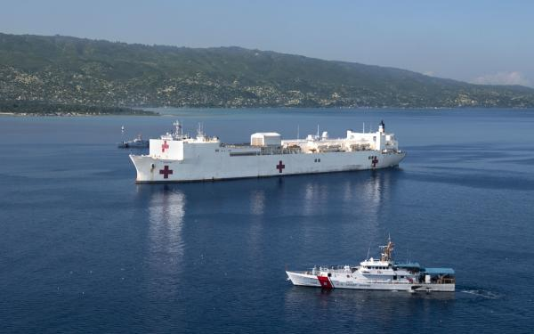 12 countries. 68k patients treated. 1,257 surgeries. As the #USNSComfort completes its mission, I'm proud of our enduring commitment to the Western Hemisphere, including the people of #Venezuela, many of whom have fled Maduro's illegitimate regime. Welcome home, shipmates!<br>http://pic.twitter.com/9RL3rCdZdr