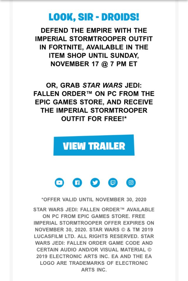 Vastblast Fortnite Leaks On Twitter So The Stormtrooper