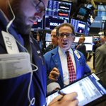 Image for the Tweet beginning: U.S. markets finish with fresh