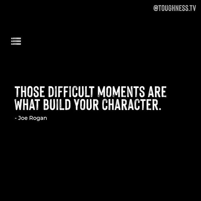 Want to know how @joerogan embraces toughness? 💎 Stay tuned in our feed for the full video 🎥 . . . . . . #toughness #motivationalquotesoftheday #inspiration #joerogan #igdailyphoto #inspirationalwords #dailyinstainspo #quotestoinspire #quotesaboutlife  #workhard #joeroganexp…