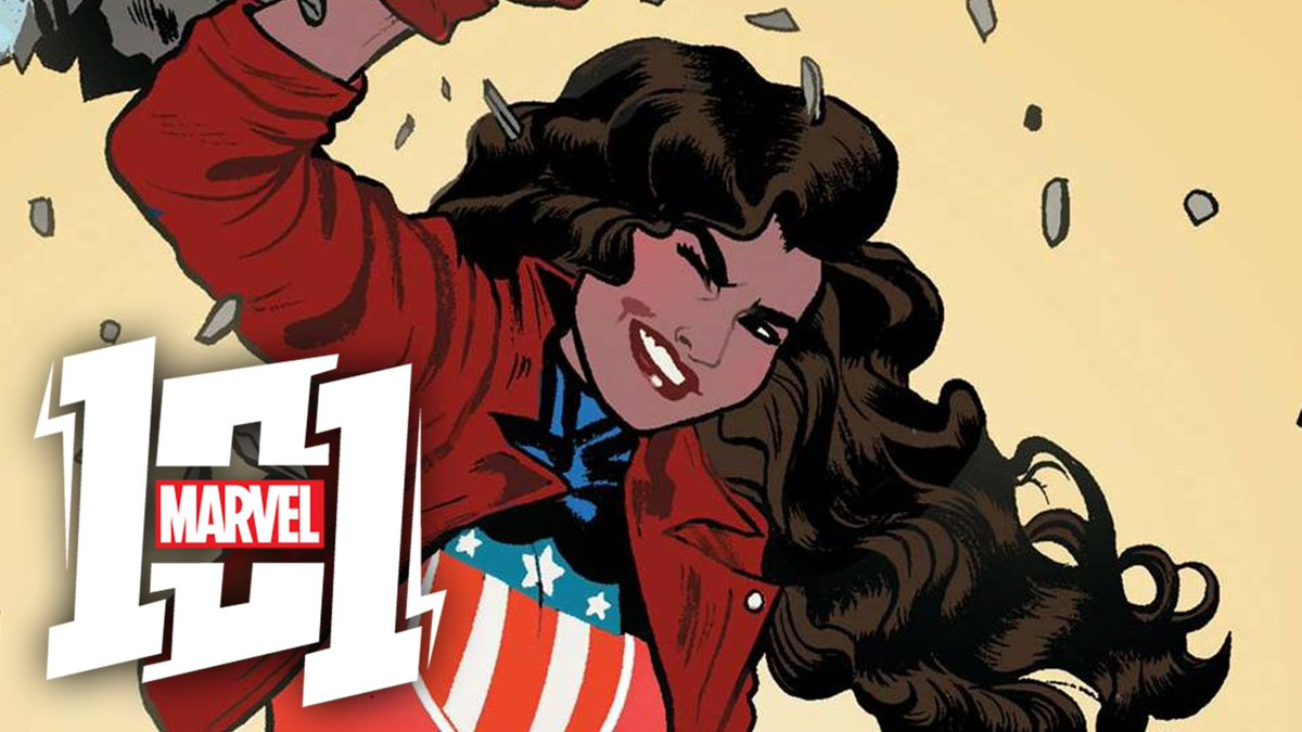 Coming to Earth from another reality, America Chavez uses her superhuman abilities to protect its people. Punch through the fabric of reality with this weeks #Marvel101! #ad