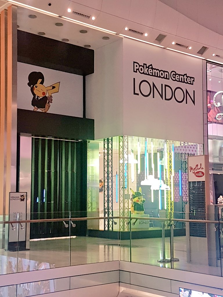 Just a massive thank you to @PokemonNewsUK, @NintendoUK and @PokemonPopUp for putting together such an amazing #pokemoncentrelondon in the UK for us fans the last month! Its been amazing and have great memories of visiting! Hope you decide to open one full time in the future!
