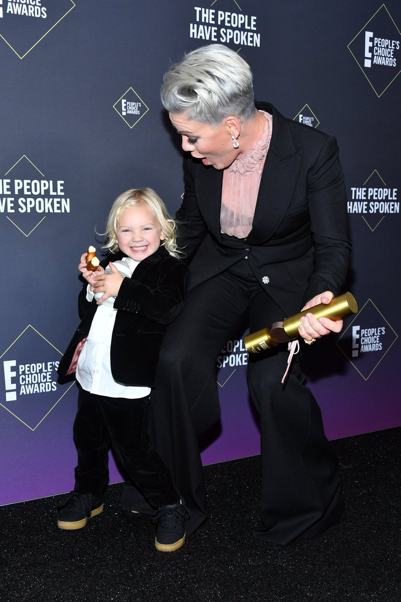 Ill never be as cool as @pink s kids at the #PCAs  and I am 100% okay with that.