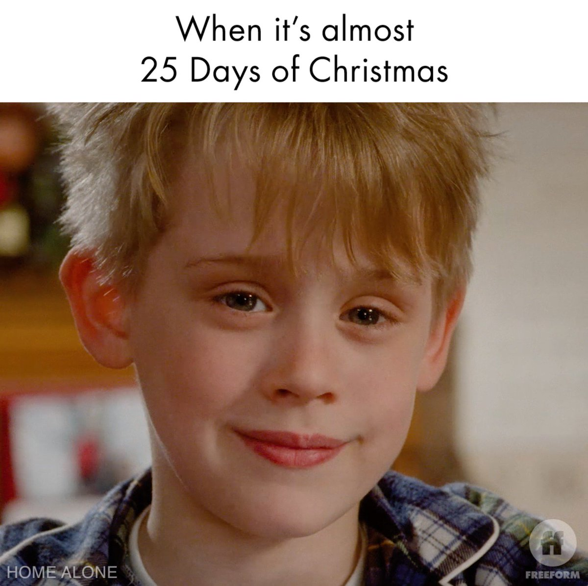 Get ready for full Christmas mode.   ❤️ this tweet to get a reminder to watch #25DaysOfChristmas on December 1 on @FreeformTV.