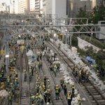 山手線と京浜東北線の切替工事現場がすごい事になってた!