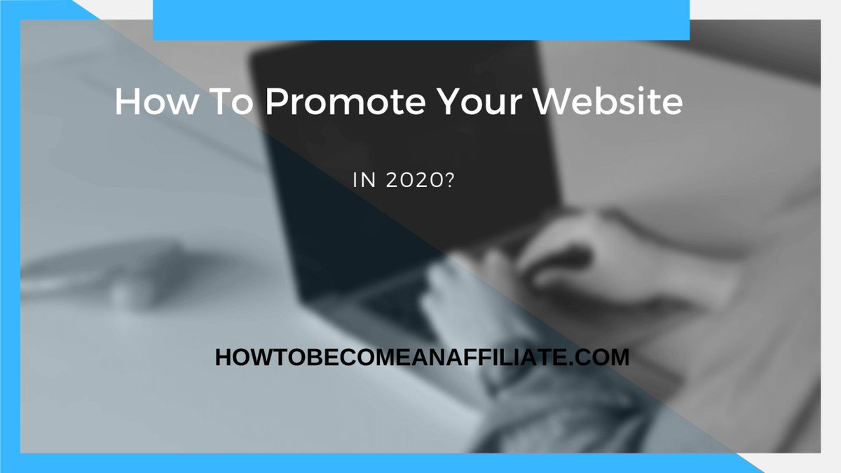 How To Promote Your Website In 2020?https://www.howtobecomeanaffiliate.com/promote-your-website/…Check Our Guide!#blogger #promotion #advertising #affiliatemarketing #howtobecomeanaffiliate #becomeanaffiliate #opportunity #creativity #MarketingDigital #onlinemoney