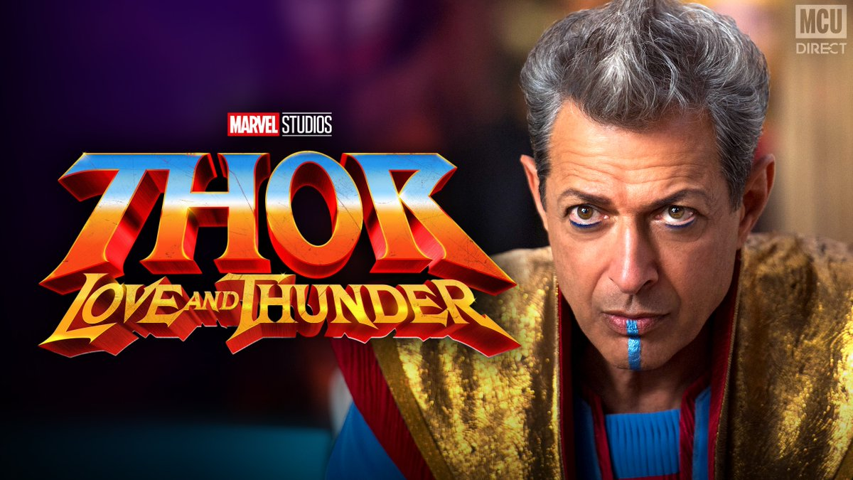 "Actor Jeff Goldblum says that he and @MarvelStudios are ""talking about"" Goldblum reprising his role as the Grandmaster in #ThorLoveAndThunder! http://bit.ly/2Xn9h8z"