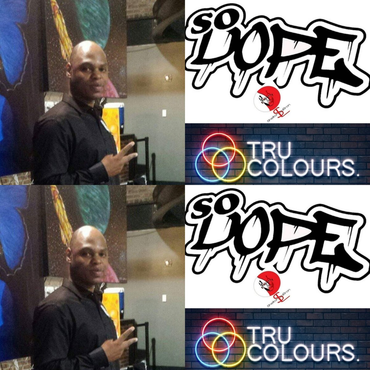 Tru Colours - Art Basel Miami - ArtpocalypseATL - SHELLTON LABRON - 12/6 & 12/7 #art #artist #visualart #visualartist #painting #creativity #fineart #artwork #worksofart #imagery #gallery #color #form #line #artbasel #painter #dreamer #dope #imagination #drawing #decor #passion