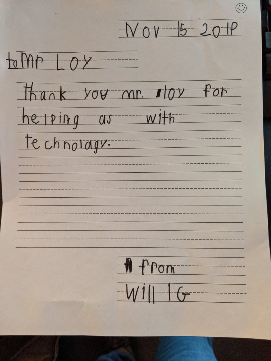 Made my Friday for sure!!! #edtech #education #gsesdallas