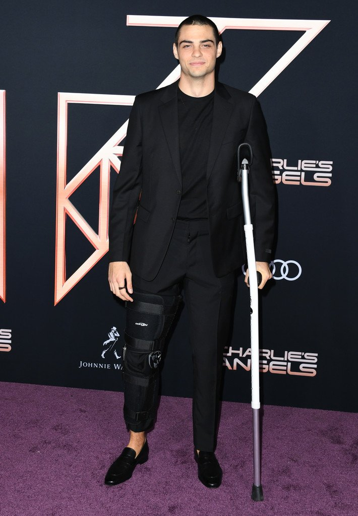 "Noah Centineo wore a #PRADA suit to the ""Charlie's Angels"" Hollywood premiere earlier this week. #CharliesAngels is in theaters today!"