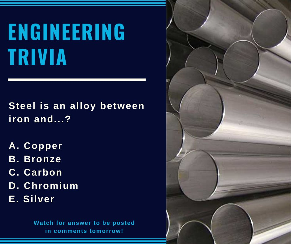 #triviafriday #STEM #engineering #themoreyouknow