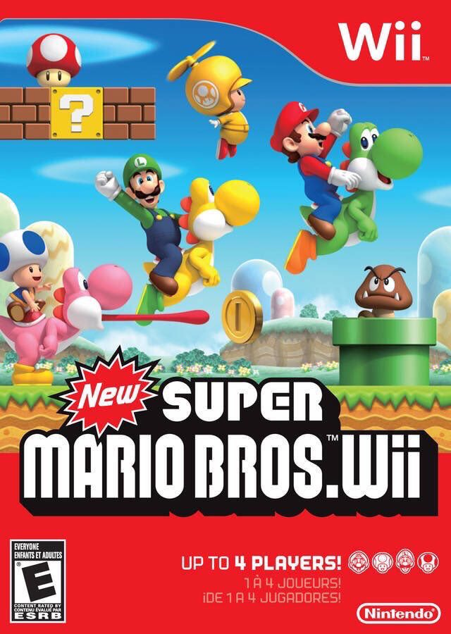 New Super Mario Bros. Wii for Wii was released on this day in North America, 10 years ago (2009)