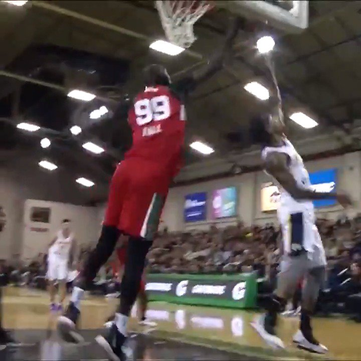 Tacko Fall making an immediate impact playing for the Red Claws