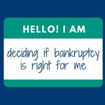 Image for the Tweet beginning: #Bankruptcy can be a painful