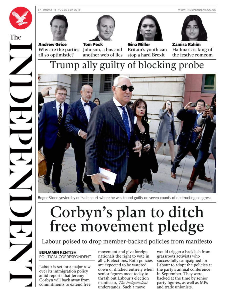 Tomorrows @independent front page #tomorrowspaperstoday To subscribe to the Daily Edition independentsubscriptions.co.uk