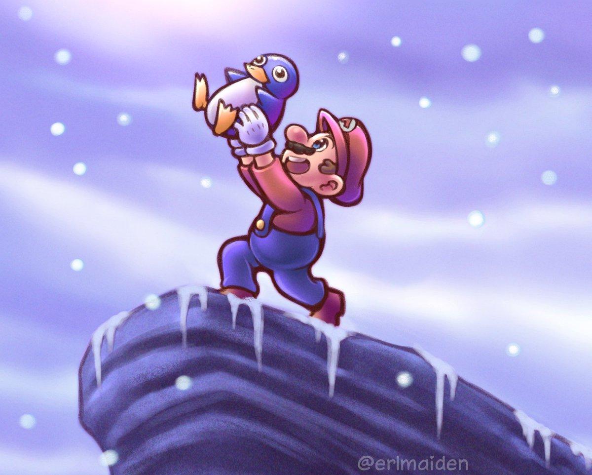 The baby penguin is dead, long live the baby penguin!🐧#Nintendo #N64 #SuperMario #スーパーマリオ