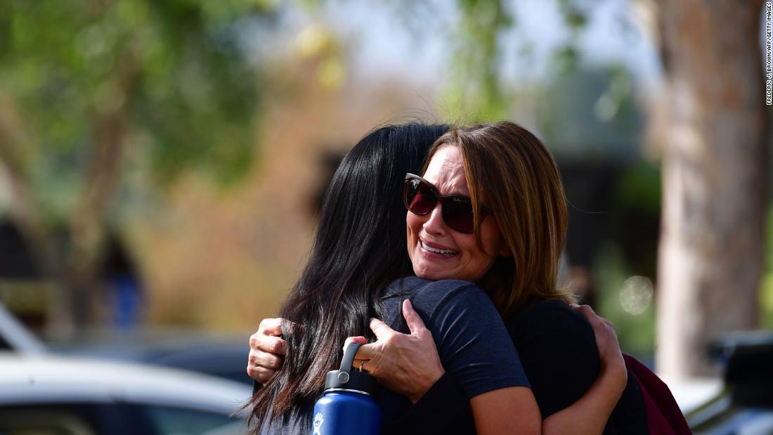 The suspected killer in the California school shooting has died, officials say  https://cnn.it/2XhOWlb