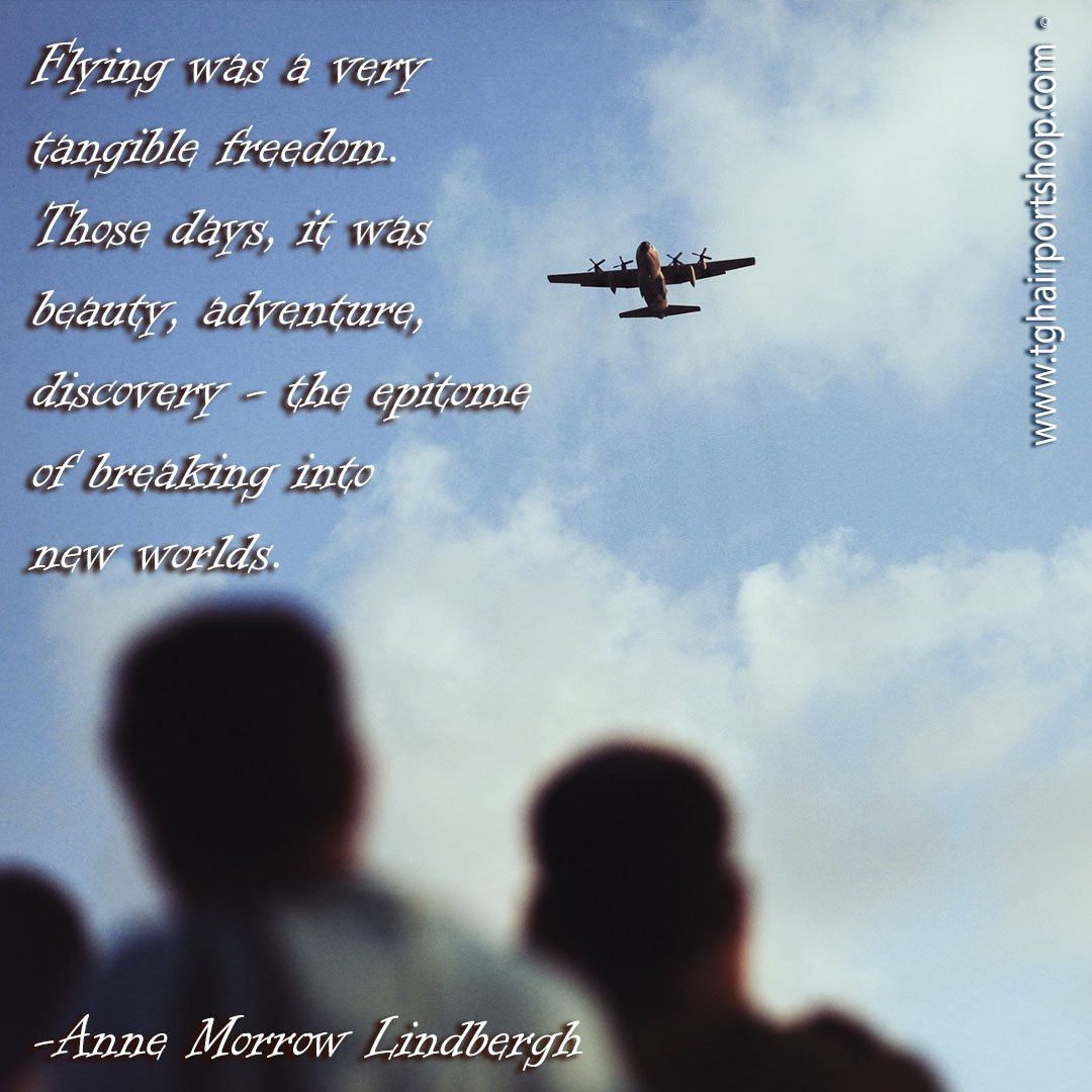 Flying was a very tangible freedom. Those days, it was beauty, adventure, discovery - the epitome of breaking into new worlds. Anne Morrow Lindbergh #pilotquotes #pilotproverbs #pilotsview #aviationlovers #aviatorsgear #aviatorquotes #apmechanic #aircraftmaintenance #flying