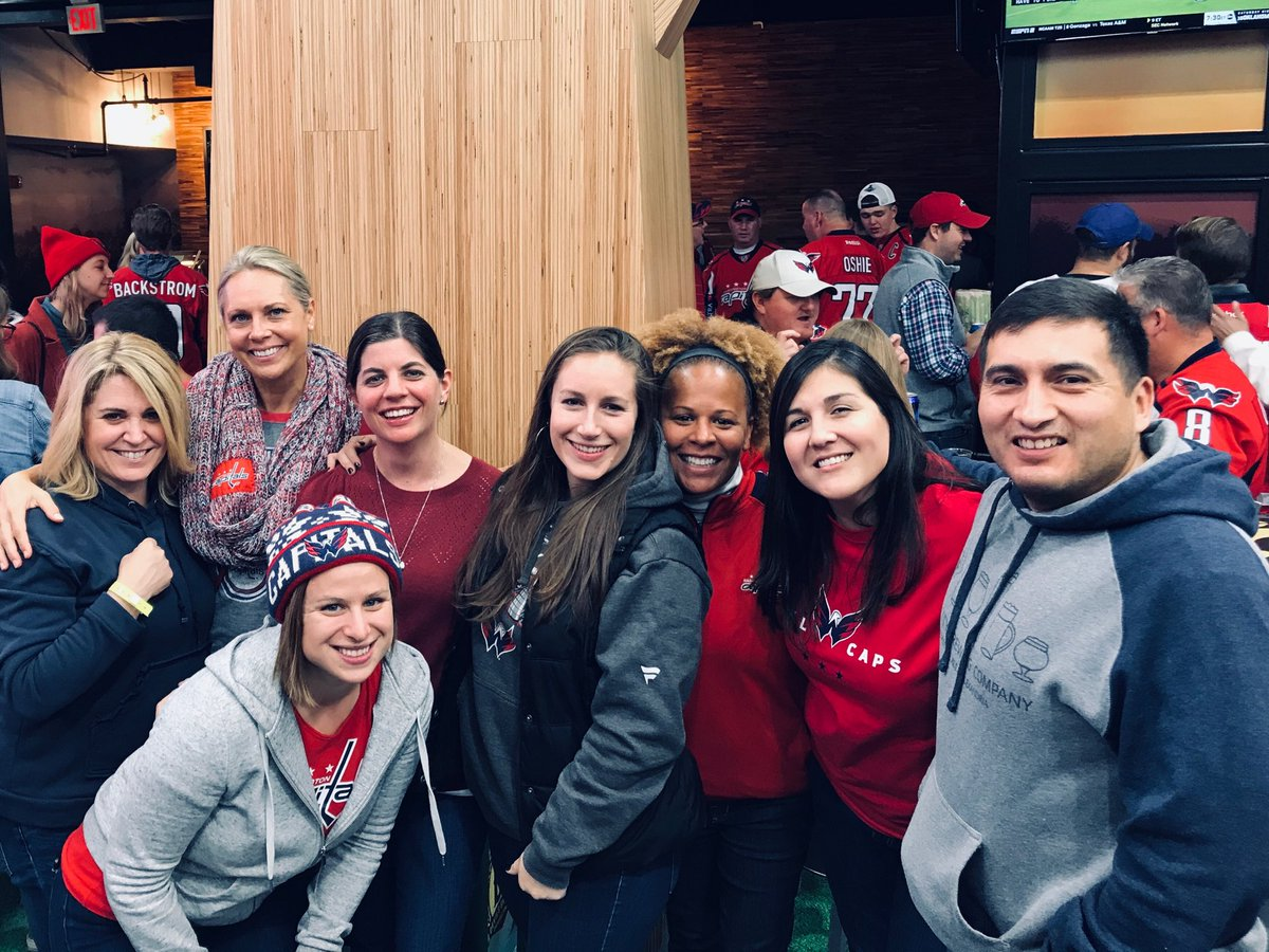 Glebe staff enjoying time together watching the Caps! <a target='_blank' href='http://search.twitter.com/search?q=beststaffever'><a target='_blank' href='https://twitter.com/hashtag/beststaffever?src=hash'>#beststaffever</a></a> <a target='_blank' href='http://search.twitter.com/search?q=glebersforever'><a target='_blank' href='https://twitter.com/hashtag/glebersforever?src=hash'>#glebersforever</a></a> <a target='_blank' href='http://search.twitter.com/search?q=glebeeagles'><a target='_blank' href='https://twitter.com/hashtag/glebeeagles?src=hash'>#glebeeagles</a></a> ⁦<a target='_blank' href='http://twitter.com/glebepta'>@glebepta</a>⁩ <a target='_blank' href='https://t.co/tWNiRXs1x3'>https://t.co/tWNiRXs1x3</a>