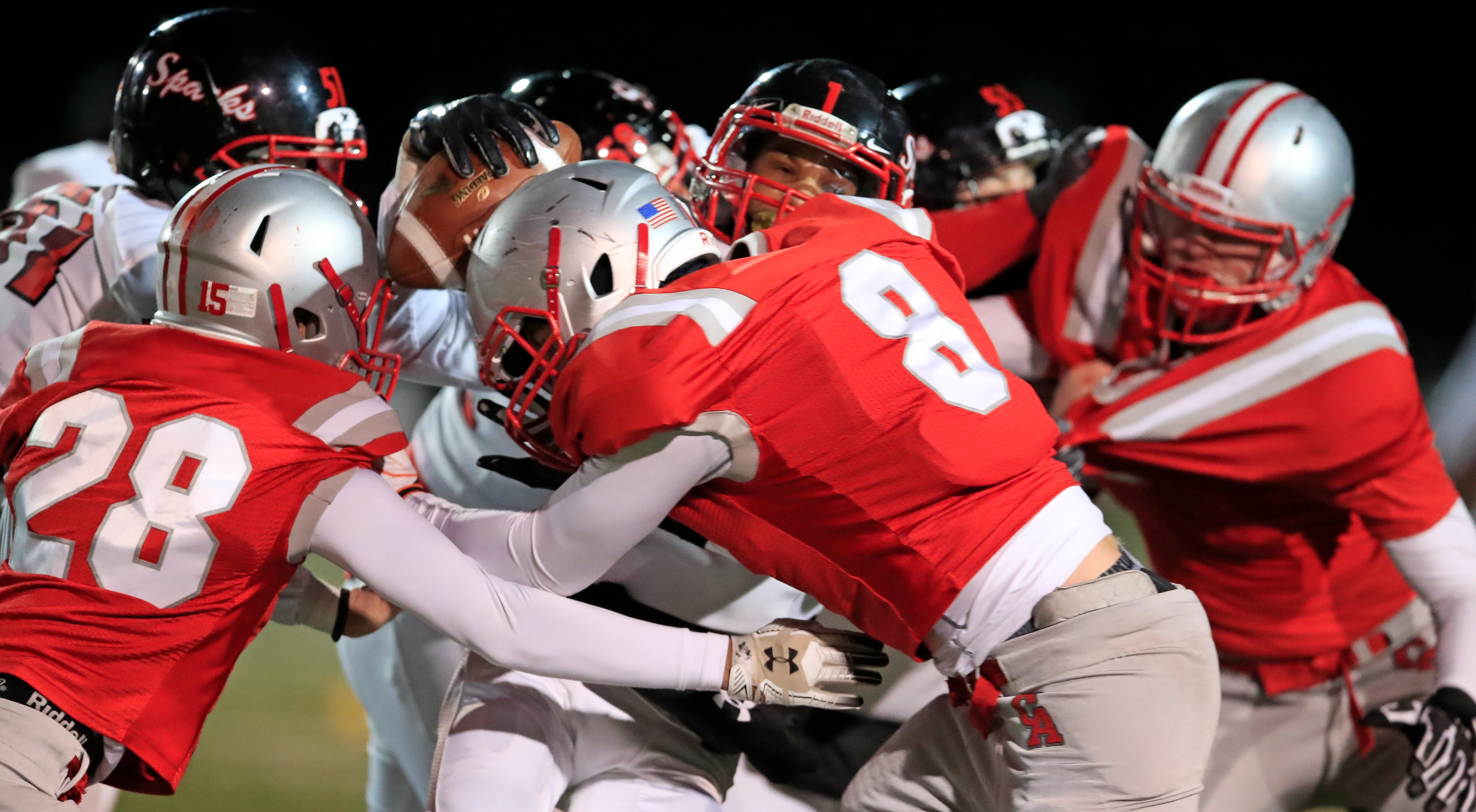 Canandaigua is headed to Class A Final Four after defeating South Park, 24-6