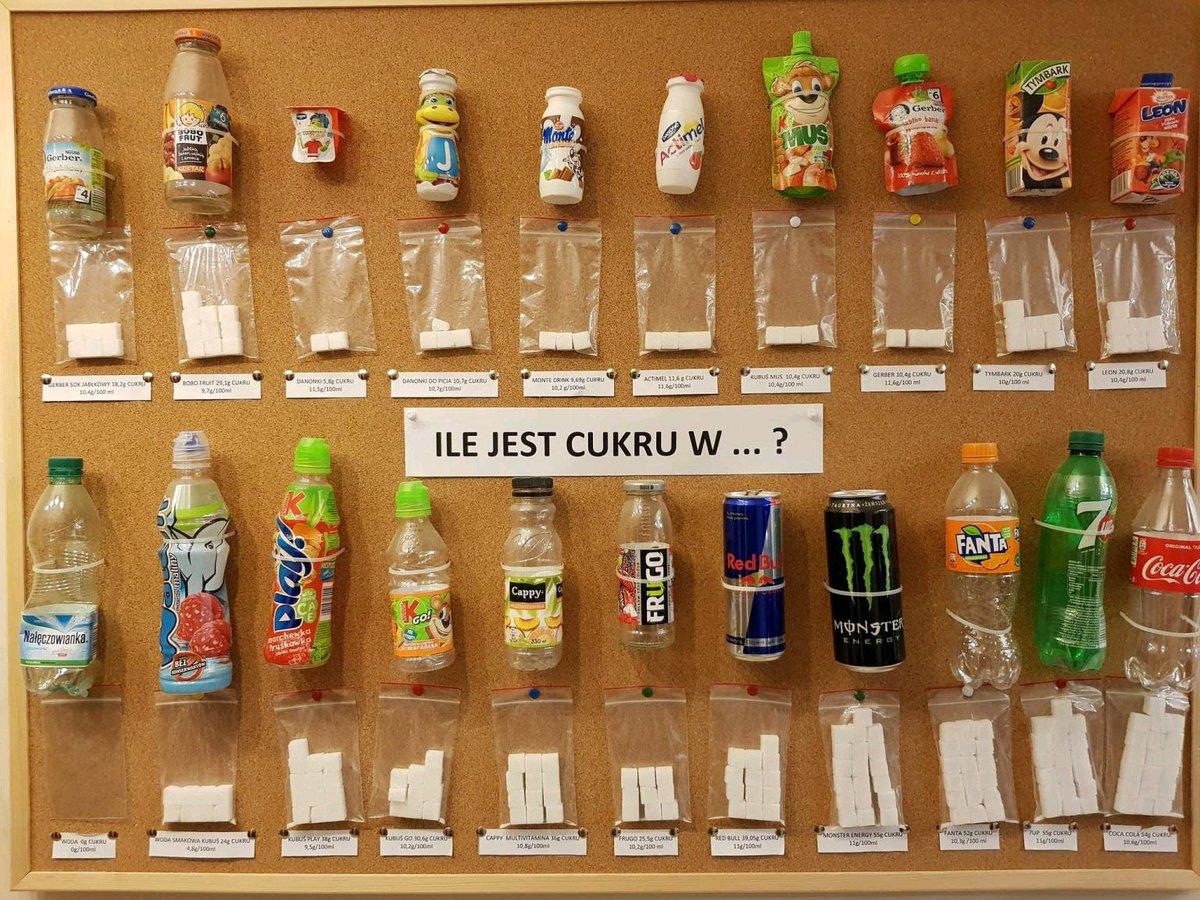 Сколько сахара в напитках картинка
