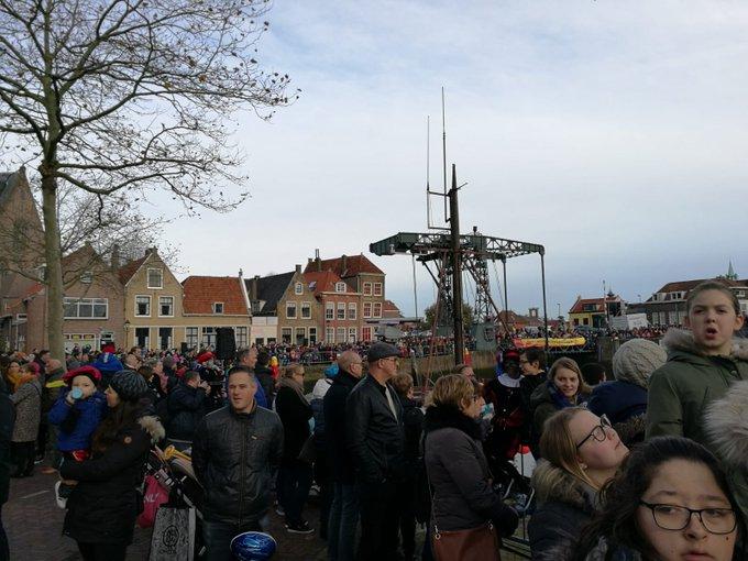 Maassluis is uitgelopen naar de haven voor sinterklaas https://t.co/xjGXZx8Yrl
