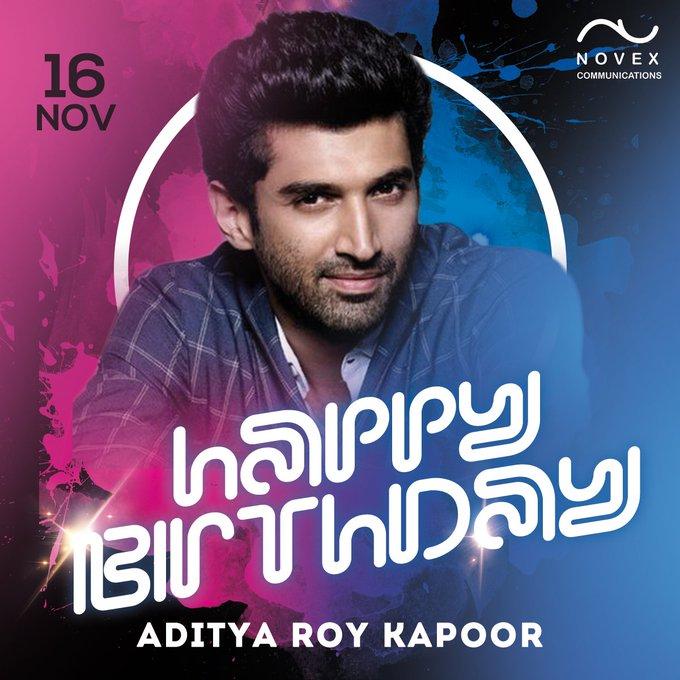 Happy Birthday to charming & talented - Aditya Roy Kapoor