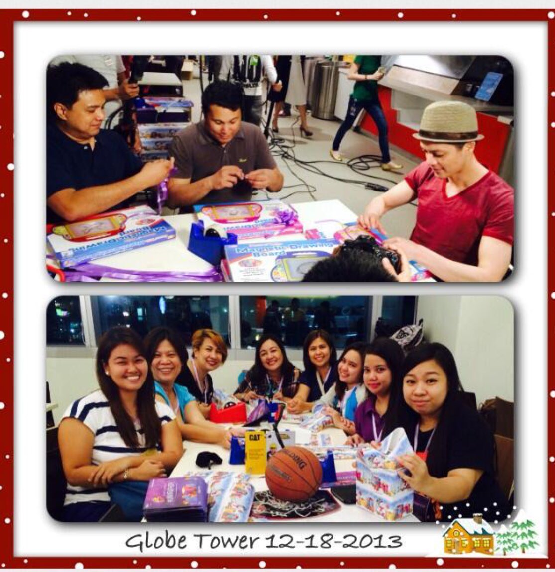 Happy 8th Anniversary @BMLFanatics #downmemorylane #throwback #Christmas gift wrapping with #KampKawayan family #BMLF @TeamPandaFamily with SirP , SirC and @Bamboomusiclive #letsdothisagain<br>http://pic.twitter.com/EGs2rfDWJT