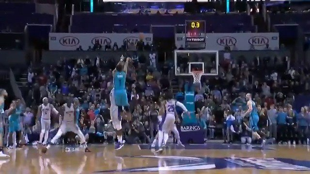 👀 every angle of @AhmadMonk's #TissotBuzzerBeater for the @hornets win!   #ThisIsYourTime #AllFly
