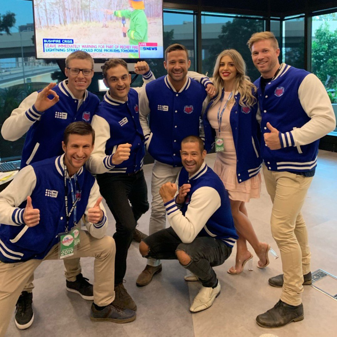 They flip, jump and fly but they also answer phones! Our Ninjas will be taking your calls tonight at the #9Telethon, call 1800 909 900 or head to http://9Telethon.com.au to make a donation! ❤️