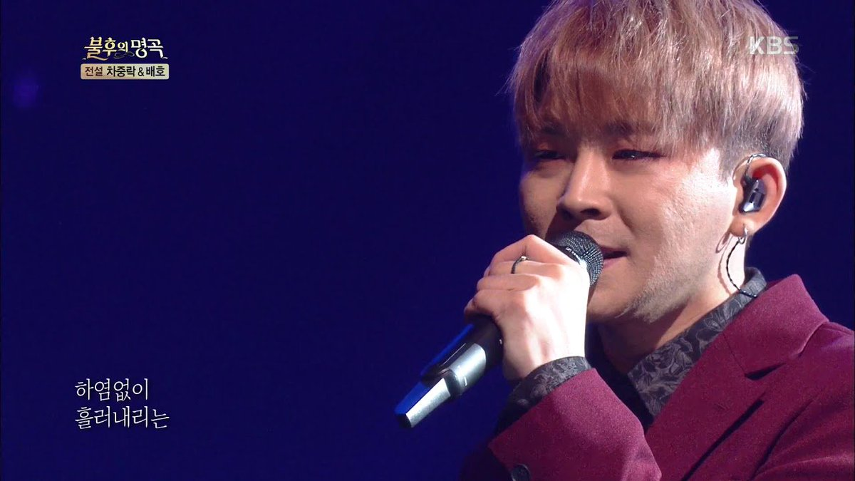 Baek Chung Kang makes his return on Immortal Song after struggle with cancer allkpop.com/article/2019/1…