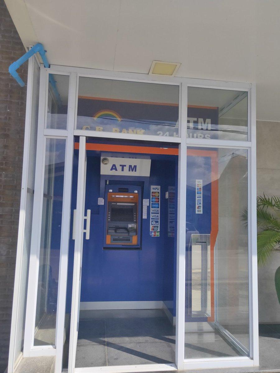 ミャンマー。ATM。キャッシング。ニャウンシィエで11/14午後。100000kをクレジットカードでキャッシング。本日繰上げ返済。操作時に手数料課金の承認画面がありましたがいつものように課金はされず。1万円で138,970k。両替レート。