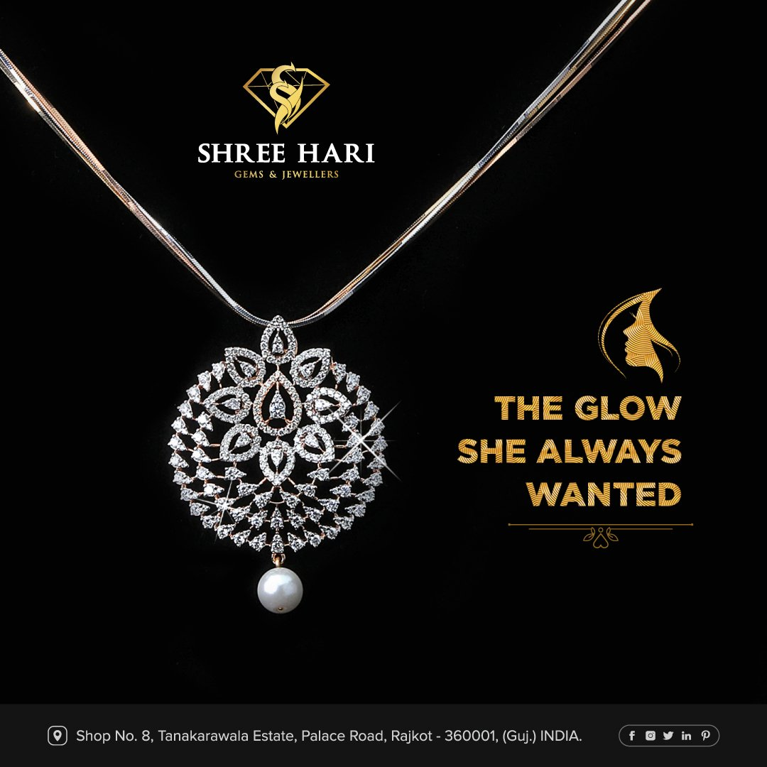 The Glow She Always Wanted. . . . #ShreeHari #ShreeHariJewellers #Jewellers #Collection #Gold #Silver #JewelryArt #GoldJewellery #Jewellery #Fashion #Gold #Bracelet #Jewels #Style #Accessories #Love #Ring #Wedding #FashionJewelry #Necklace #Earrings #Trendsetter #OnTrend