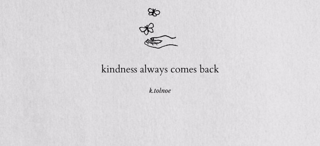 kindness goes a long way<br>http://pic.twitter.com/iLFKwduQki