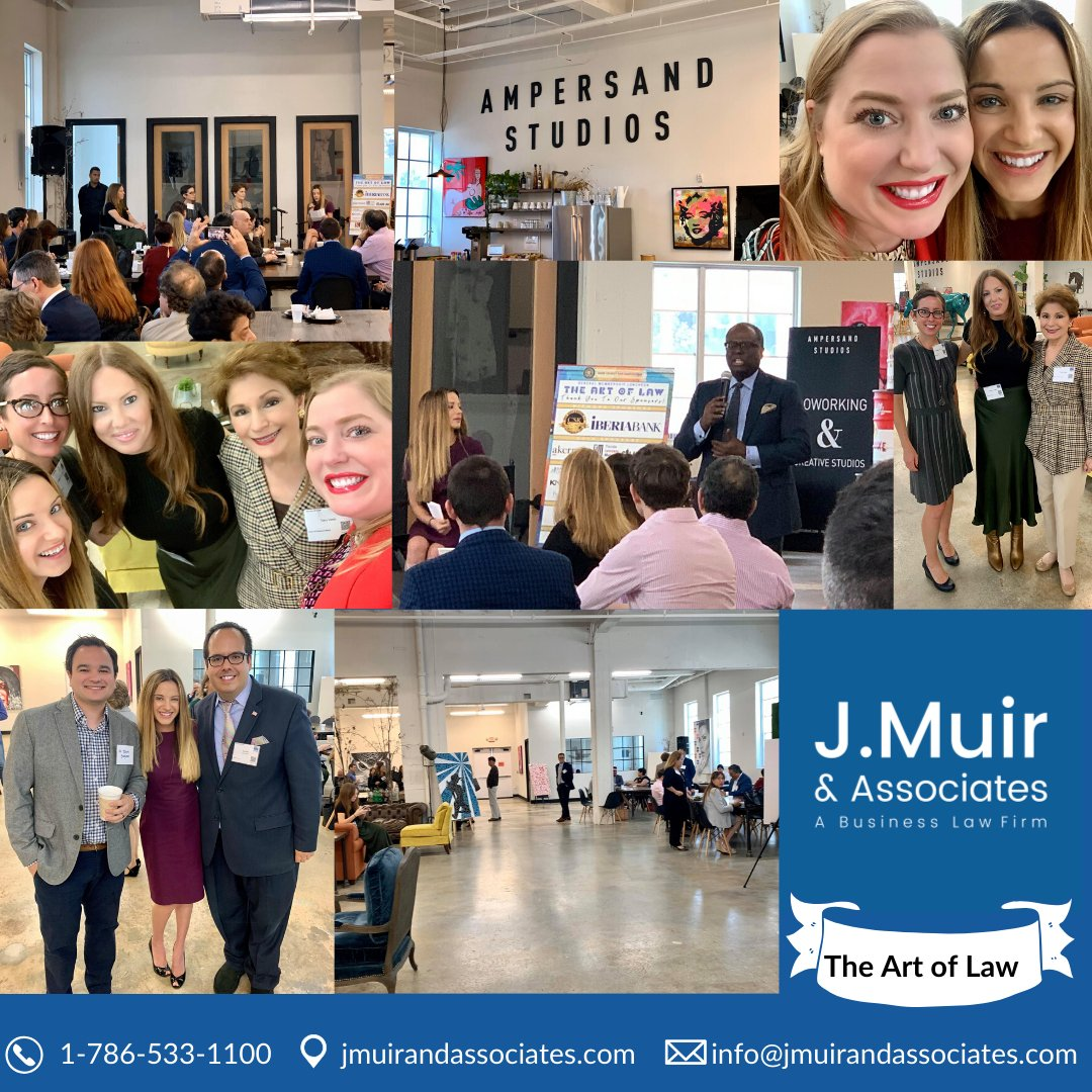 Wonderful presentation with Jaime Rich Vining moderating for our distinguished speakers discussing legal issues relating to art and museums. #miamilegal #miamilegalhelp #miamilegalfirm #miamilegalservices #jmuirandassociates #miamiart #miamiartist #miamiartdistrict
