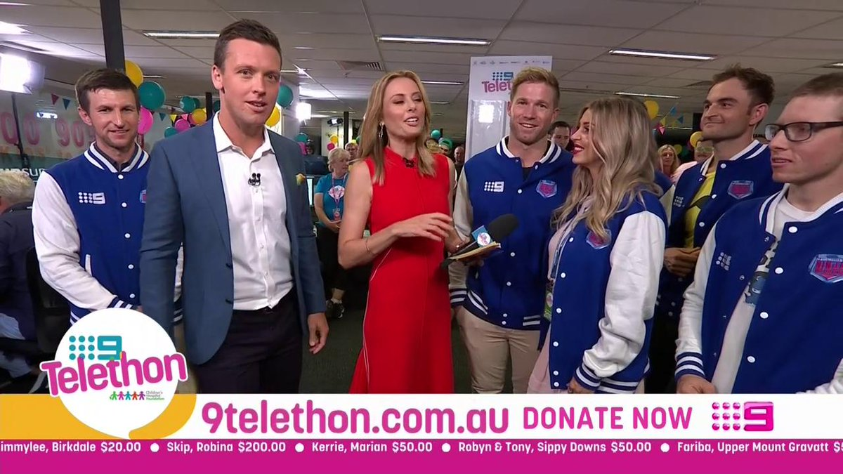 We're putting the ninjas to work and it seems to be working in our favour, we're over half way to our goal! #9Telethon | DONATE NOW: Call 1800 909 900 or head to http://9Telethon.com.au
