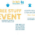 Image for the Tweet beginning: Our 'Free Stuff' event is