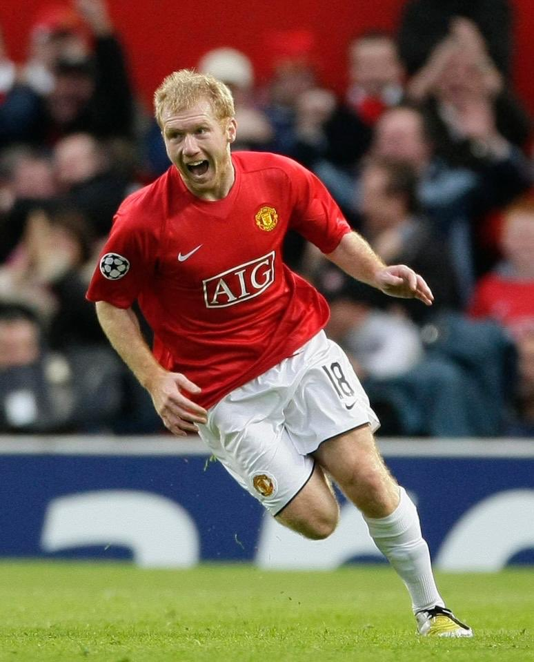 Happy Birthday Scholesy. What a footballer. Greatest midfielder I've seen at Old Trafford in red. My number one 👊🏻
