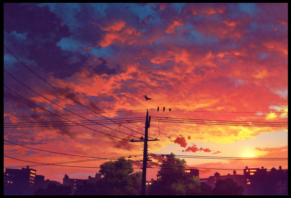 「夕焼けクルス」