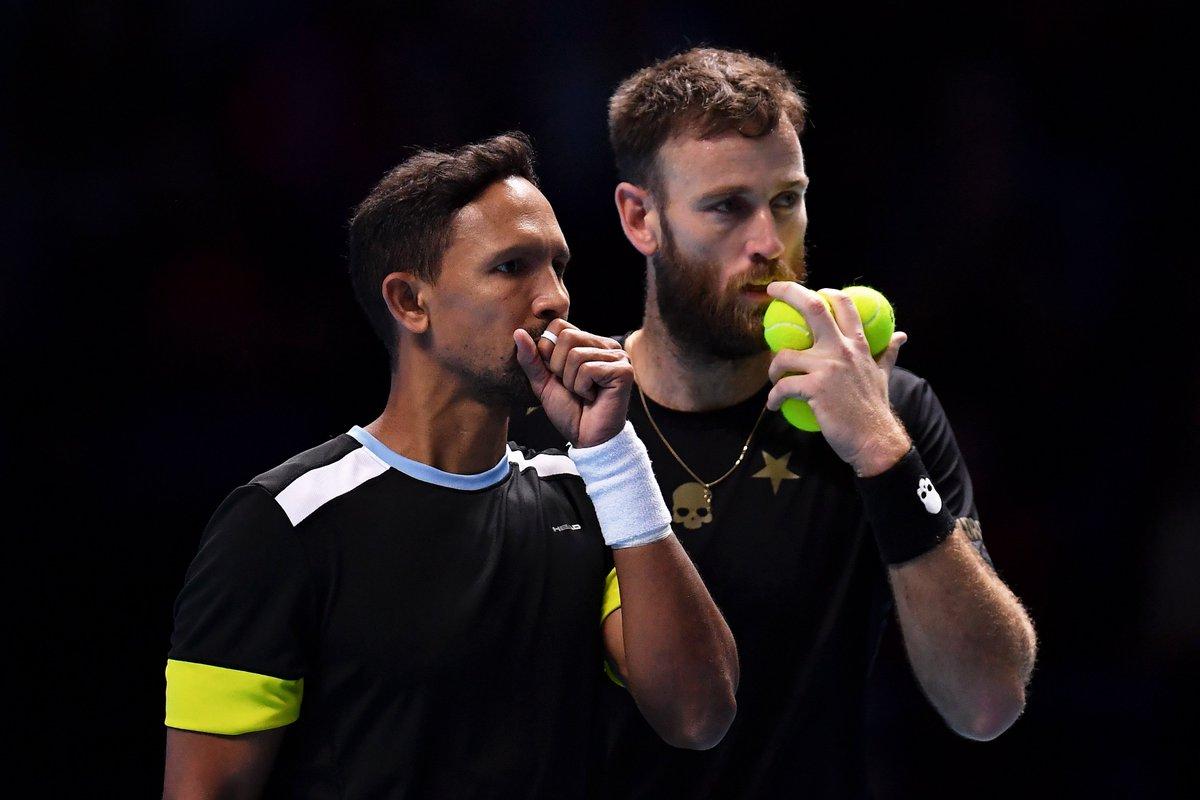 ATP Finals. Винус и Клаасен отыгрались с матчболов на пути в финал