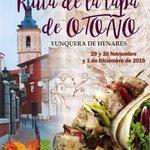 Image for the Tweet beginning: Yunquera de Henares celebrará su