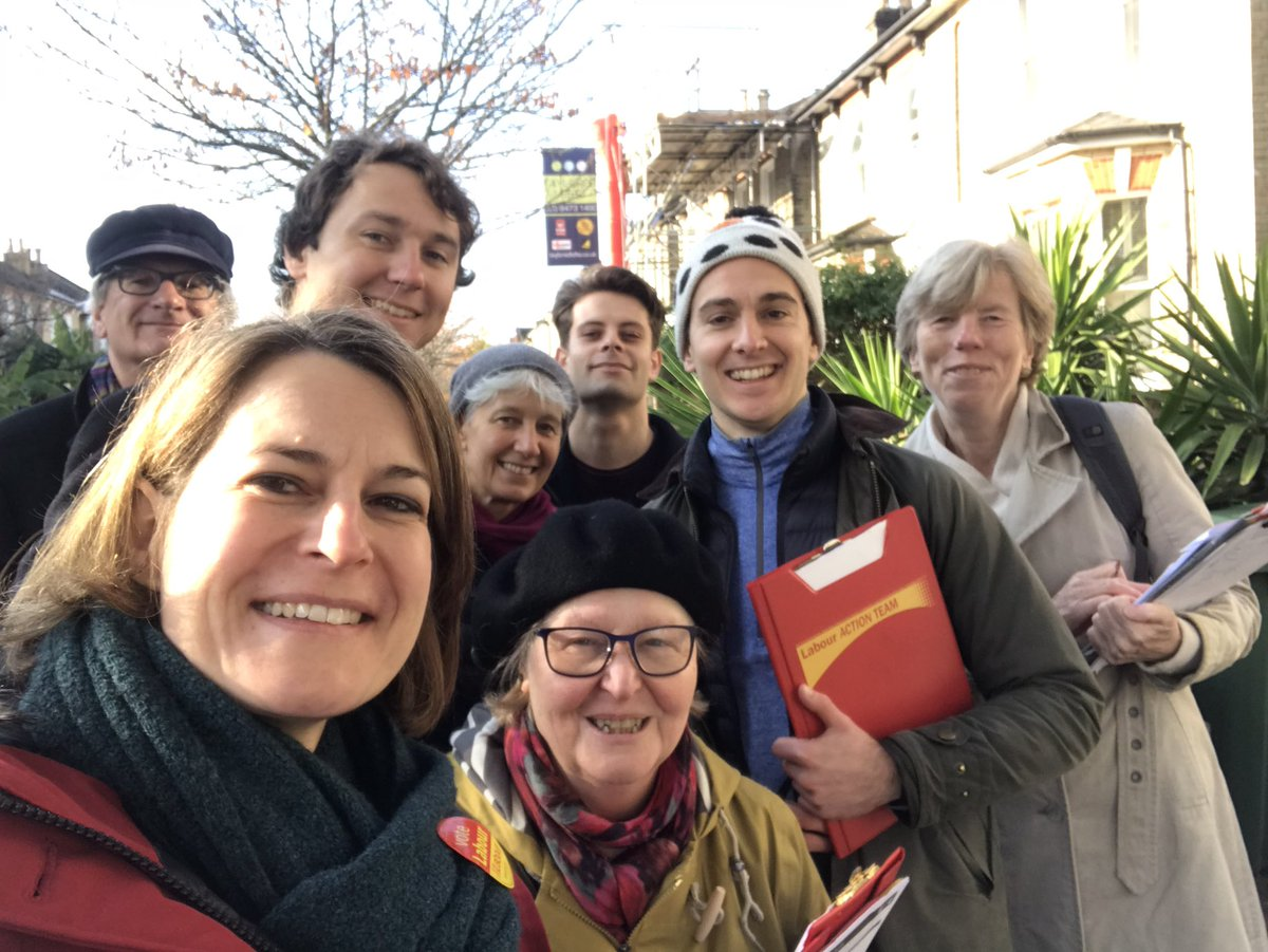 One of two fantastic Labour teams out in East Dulwich this morning, thanks to everyone who came to help! Great response from local residents, thanks to everyone who took the time to chat #ForTheMany #Votelabour #RealChange