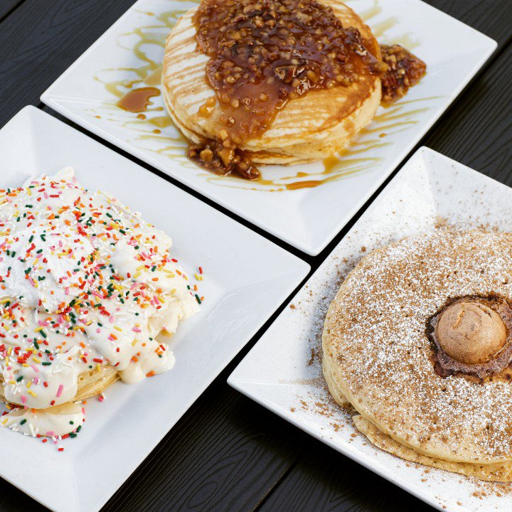 On weekends we open at 8, and really these are the only kinds of decisions you should have to make ... which pancake to have when you #brunch with us  #FromageBrasserie #WeekendBrunch <br>http://pic.twitter.com/i2dOazej5d