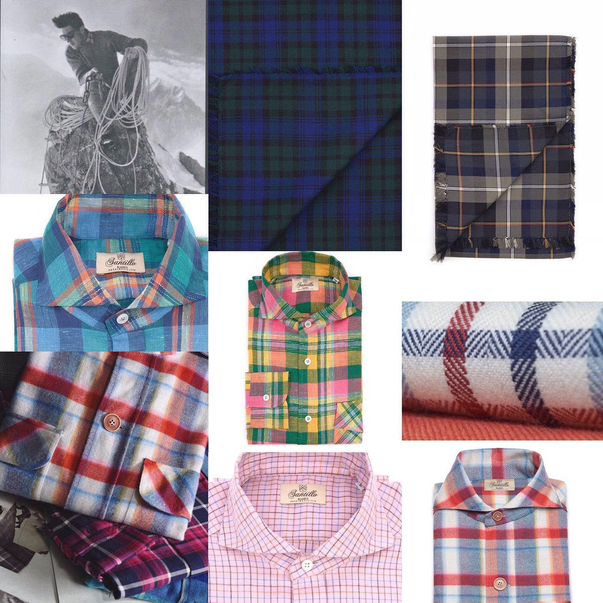 From latest collection soon available on sale#check #tartan #madras  #radiciproject  #comfortneverwithoutelegance #inspiration #fw20  #classicmenstyle #gentlemantips #timeless #elegance #details #luckyflannel #exclusive #handmadeinitaly #santillo1970 #mastershirtmakerspic.twitter.com/wYudPYajE6