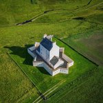 Image for the Tweet beginning: Corgarff Castle from above😍 Isn't