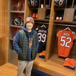 Image for the Tweet beginning: First stop... Halas Hall! This