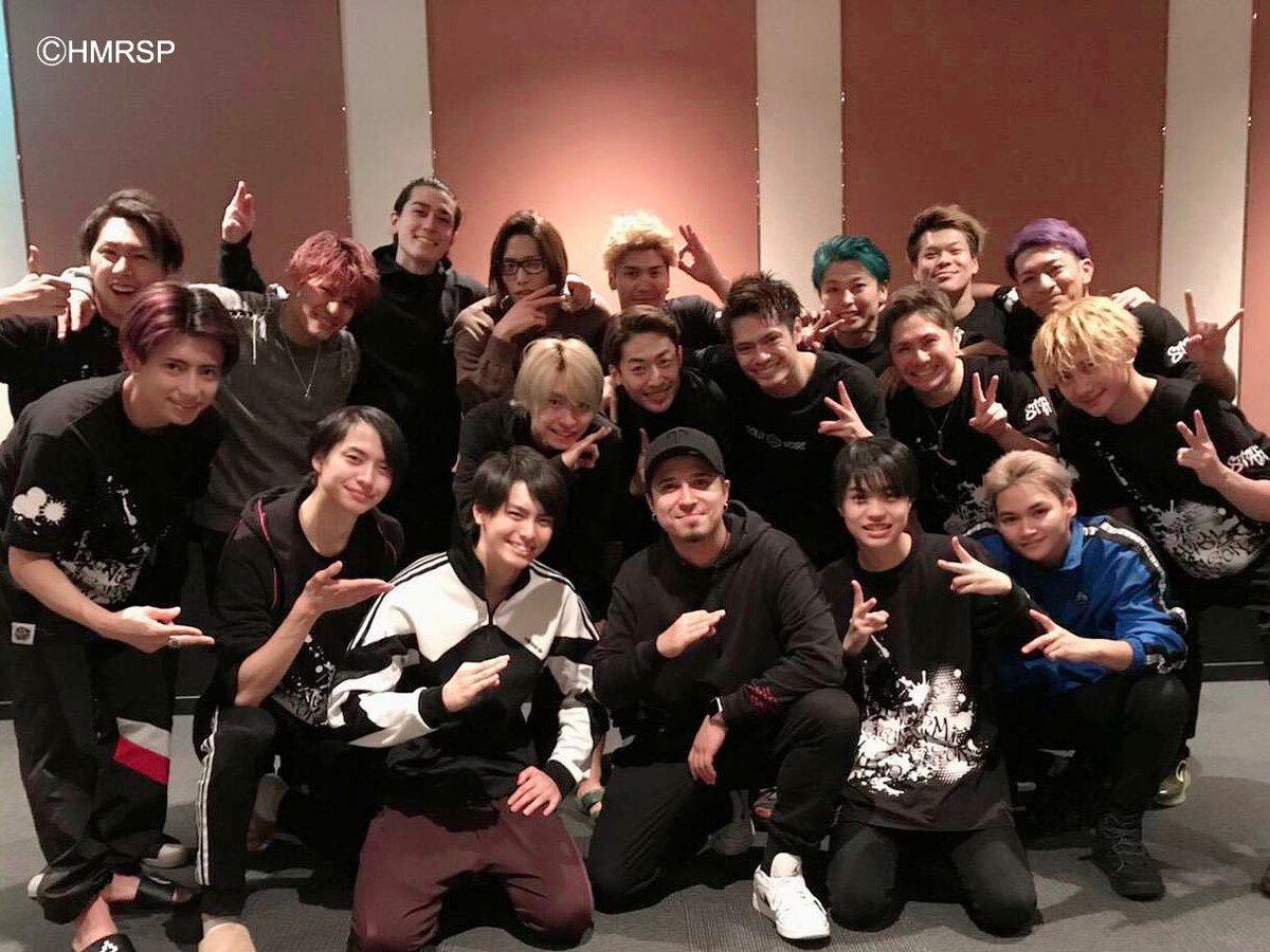 本日、原作「ヒプノシスマイク」山田一郎の声優を務める木村昴さんがご観劇くださいました!木村さん、ありがとうございました!#ヒプステ