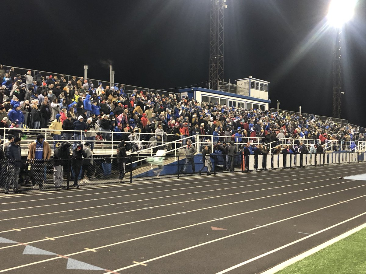 Lastnight we held our 11th state football or soccer game and 43rd event overall this fall at Doug Adams Stadium. These events can't take place without GREAT teamwork! Thank you to all of our workers over the last 3 months that have made this happen @Jerry_Snodgrass @XeniaSchools