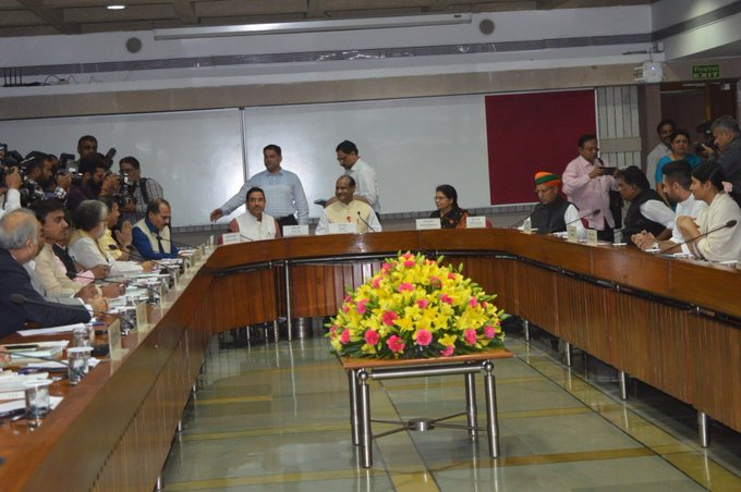 Political parties assure Speaker of smooth functioning of Parliament